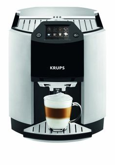 KRUPS EA9010 BARISTA ONE TOUCH Expresso Maker, 17 automatic recipies at a touch! #Krups new placed on ebay for 1/2 cost of store price, great deal!