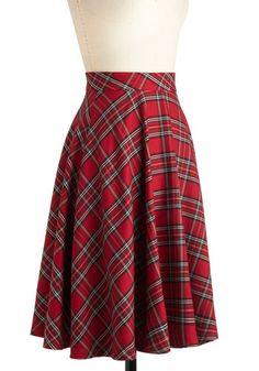 Illustrative Style Skirt, #ModCloth