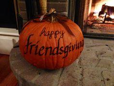 a great idea for Friendsgiving!