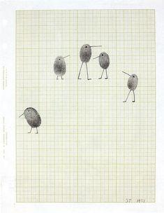 Родоначальником fingerprint art считается американский художник-график Соул Стенберг (STEINBERG Saul). Его идея была в том, что бы отпечатывая пальцы создавать картинки, и…
