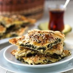 Spinach and Feta Cheese Borek