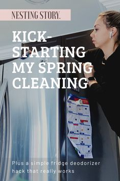 "Life is busy. Life is unpredictable. I cannot control what curveballs will be thrown at me each day, but one thing's for sure, if my home is in chaos that … Continue reading ""Kick-Starting My Spring Cleaning & A Simple Fridge Deodorizer Hack"""