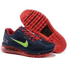 http://www.anike4u.com/ Nike Air Max 2013 Mens Shoes in Navy and Red