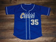 Have a look at this custom jersey designed by Storm Chasers Baseball and created at Nill Brothers Sports in Kansas City, KS! http://www.garbathletics.com/blog/storm-chasers-baseball-custom-jersey-2/ Create your own custom uniforms at www.garbathletics.com!