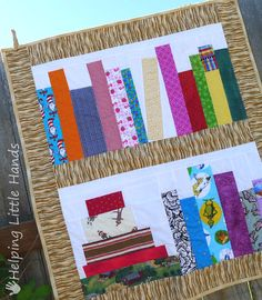 Book Quilt - I LOVE THIS.