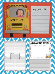 Bus Safety Craftivity and Informational Writing
