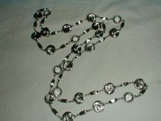 vintage st.john silver plated knots clear by qualityvintagejewels, $199.00