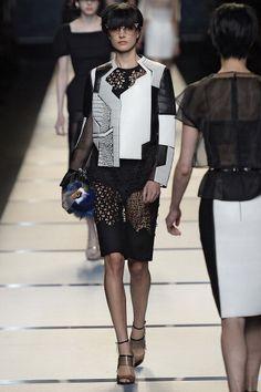 Fendi Milan Fashion Week Spring/Summer 2014 Show