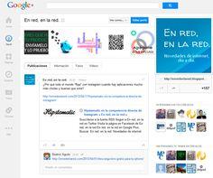 Los cambios de Google Plus. Nuevo diseño.