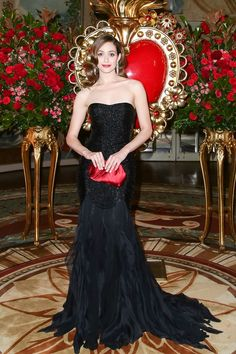 Emmy Rossum in Ralph Lauren at the 2015 Save Venice Ball