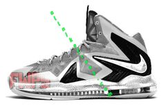 Nike Zoom Lebron 10 Elites Grey Wolf