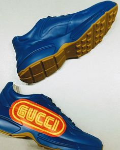 "d684164adf07 Selfridges on Instagram  ""Join the  gucci gang . . .  Gucci  Menswear   Sneakers  Trainers  GucciGang  Kicks  SelfridgesLondon   SelfridgesBirmingham…"""