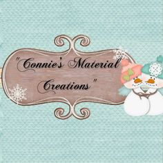 """Connie's Material Creations"" https://www.facebook.com/ConniesMaterialCreations"