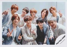 Hey! Say! JUMP over the top