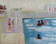 Jennie Ottinger,Marco Polo,oil on panel