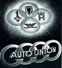 La marque Auto Union, Allemagne 1932 - 1969, voitures anciennes de collection, v2.