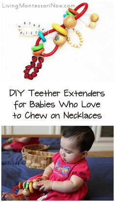Baby-Safe and Toddler-Safe DIY Materials and Toys #Montessori #babies #toddlers