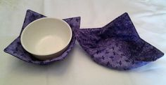Microwave Bowl Cozy Pot Holder Hot Pad Kitchen Textiles Linens by CaliSistersCreate on Etsy
