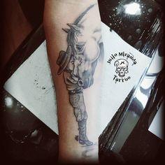 tattoo cavallo by Body Art Tattoos, Sleeve Tattoos, Tatoos, Horse Tattoo Design, Tattoo Designs, Cowboy Tattoos, Native Tattoos, Foto Shoot, Different Tattoos