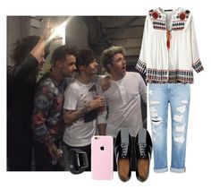 """""""OTRA with the boys"""" by marbear263 ❤ liked on Polyvore featuring Genetic Denim, FitFlop, women's clothing, women's fashion, women, female, woman, misses and juniors"""