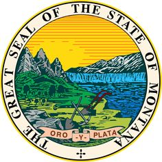 Shop Montana state seal america republic symbol flag poster created by anamariatudor. Personalize it with photos & text or purchase as is! North Dakota, North America, Wyoming, Idaho, Republic Symbol, Lpn Programs, Student Loan Forgiveness, Montana Homes, Into The West