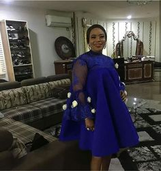 Ankara Short Gown Styles, Lace Dress Styles, African Lace Dresses, Latest African Fashion Dresses, African Dresses For Women, African Print Fashion, Africa Fashion, African Attire, Nice Dresses