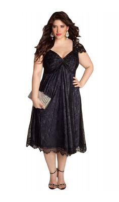 Rochie XXL Black Embellished