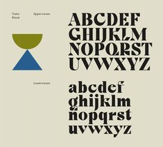 Along with other typefaces from the V&J, this geometric font was designed in the best tradition of the French retro design. Font Design, Web Design, Design Poster, Type Design, Branding Design, Layout Design, Alphabet Design, Graphic Design Studios, Graphic Design Typography