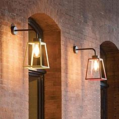 Shop Lighting Collective for Outdoor Wall Lights. This geometric shaped mounted exterior wall light is perfect for lighting up your front entrance, exterior pathways or your porch. Exterior Wall Light, Exterior Lighting, Copper Wall Light, Powder Coat Colors, Copper Glass, Front Entrances, Geometric Wall, Aluminum Metal, Shop Lighting