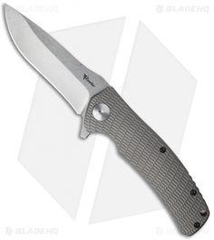 """Reate Knives Horizon-B Frame Lock Knife Titanium (3.75"""" Stonewash) S35VN"""
