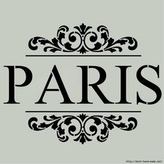family name instead of paris