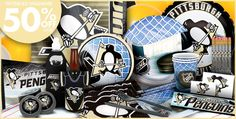 Pittsburgh Penguins Party Supplies, Favors