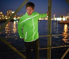 Reflexní běžecká bunda
