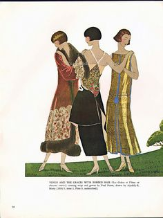 1924-25 - designs by Paul Poiret dresses by André Marty