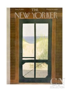 AUGUST The New Yorker Cover - August 8, 1953 Poster Print by Edna Eicke at the Condé Nast Collection
