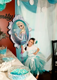 Stella's Disney Frozen Birthday party!