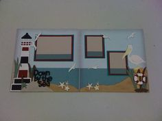 Down by the Sea by mazzybear - Cards and Paper Crafts at Splitcoaststampers , life's a beach cartridge