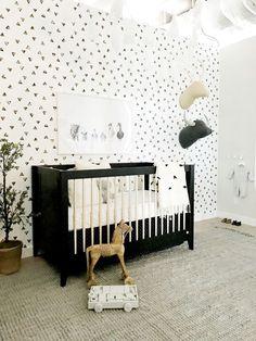 Jessica Alba S Honest Company Headquarters Black White Nursery Design By Consort