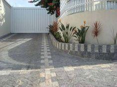 calçada com mosaico de pedra miracema