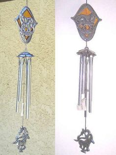 TAGZ Blackhawks Metal Decorative Hanging Wind Chime 33 inch Long