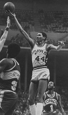 George Gervin, San Antonio Spurs.