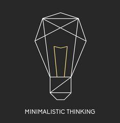 Minimalistic Thinking #trends2016 #webdesigntrends #webdesign
