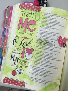 Bible Study Journal, Scripture Study, Bible Art, Art Journaling, Bible Psalms, Faith Bible, Bible Scriptures, Bible Notes, Bible Drawing