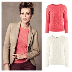 Free Shipping 2013 HOT SALE Women's Spring Autumn Long Sleeve O-neck Fashion Knitted Pullover Sweater 8938 $17.30