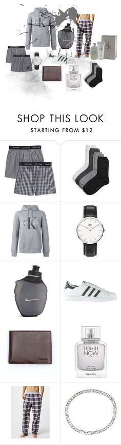 """""""for him"""" by jkajsa on Polyvore featuring Calvin Klein, Daniel Wellington, NIKE, adidas and Sevil Designs"""