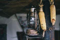 Old lamp. Arts & Entertainment Photos
