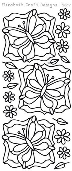 Elizabeth Craft Designs Peel Off stickers can be used for a lot of creative and fun projects like cardmaking, scrapbooking, decorating china, glass etc. They ca