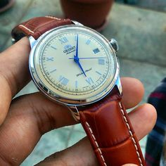 I can't get over how beautiful the new Orient Bambino is, especially in