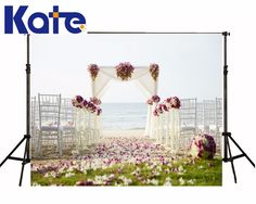 Find More Background Information about Kate Custom Made Beach Wedding Studio Photo Backdrop Green Meadow Petals White Chair Backgrounds For Photo Studio,High Quality background screen,China chair car Suppliers, Cheap chair fabric from Marry wang on Aliexpress.com