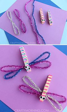 13 Creative Projects To Do With Clothespins
